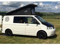 VW T5/28 Transporter 2 Berth Pop Top Campervan