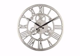 Nickle Cog Clock Brand New In Box With Tags