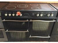 Leisure Roma 100 electric ceramic top cooker-3 months guarantee!