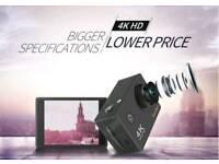 4K Action Camera WI-FI + WATTERPROOF + ACCESSORIES/BARGAIN
