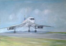 Concorde painting