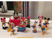 DISNEY MICKEY CLUBHOUSE CAR AND FIGURE PLUS MORE