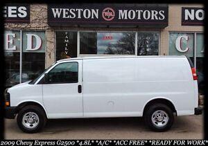 2009 Chevrolet Express Cargo Van G2500* 4.8L* A/C* ACC FREE* REA