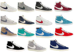 Scarpe-Nike-Blazer-Mid-Vintage-Taglie-per-Uomo-e-Donna-alte-pelle-o-camoscio-dd1