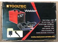 TOOLTEC MOBILE ARC WELDER AND MASK £35