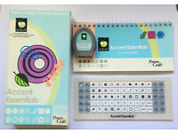 Cricut Cartridge 'Accent Essentials' Cartridge, Keyboard & Instructions