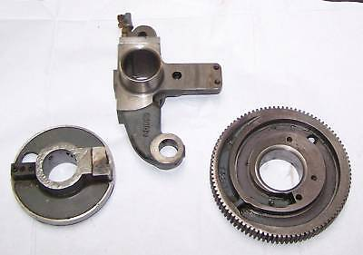 Miehle V-50 Cyl. Gear Rt. Mounting Bracket Stop Disc