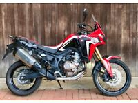 Honda Africa Twin - low mileage but scuffed panels hence low price