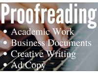 Proofreading for your Book, Business Document, or Thesis | Discounts for Long Documents | From £20