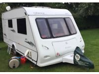 Elddis Odyssey 482 Caravan 2007 Two Berth with Awning