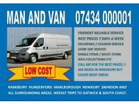 Low cost Man and Van Hungerford Swindon Marlborough Ramsbury
