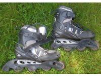 MAUI & Sons inline Skates (Blue) Size EU 40 / UK 6.5