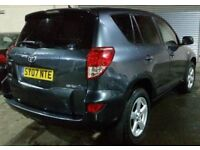 2007 TOYOTA RAV4 XTR D-4D -4 NEW MITHELIN TYRES -NEW BRAKE DISCS- 1 YEARS MOT -PART EXCHANGE WELCOME