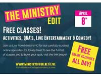 Free online entertainment and interactive sessions