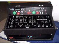 KAM KCD800 Pro Dual CD Player In Flight Case