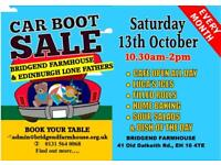 Market car boot sale monthly starting Saturday 13 th October