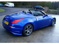 2006 Nissan 350z Convertible Roadster - Leather, Cruise, GT Pack, swap?