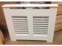 """Brand new white radiator cover,42"""" long 36"""" high 6"""" deep excellent quality"""