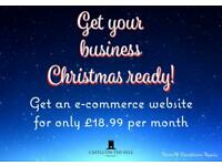 Get Your Business Christmas Ready with an E-Commerce Website