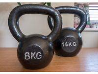8kg & 16kg Kettlebells