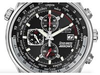 Citizen Eco Drive Red Arrow Watch