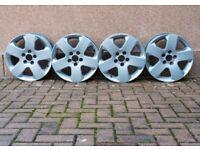 vauxhall 5 stud alloys wheels