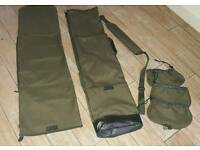 ESP quiver 5 rod holdall with reel bags