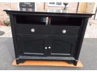 Black Television Cabinet with storage
