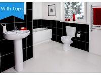 Brand new! Full bathroom suite for £156
