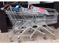 4 x SHOPPING TROLLEYS