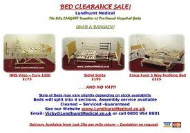 Hospital Bed Clearance - Read Description
