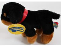 Brand New Small Dog Soft Toy on Lead By Pedigree Pals