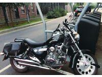Urgent Sale Stunning Keeway 125, 2014 replica of Harley Davidson
