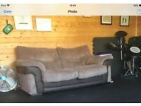 Double sofa bed beige , excellent condition.