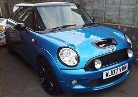 2007 Mini Cooper S Blue FSH