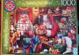 Santa's Toy Shop 1000 jigsaw puzzle