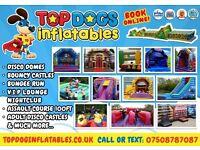 Bouncy castles & hot tub hire Nottingham