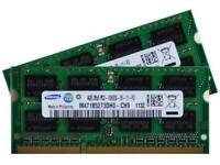 Laptop Memory. Crucial/Micron/Samsung DDR3