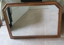 Mirror made by Morris mirros