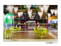 Bubby Barista for Fun and Friendly Family Leisure Venue
