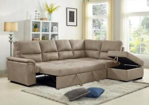 SECTIONAL SOFA BEDS ON HUGE SALE !!!! CALL 4167437700
