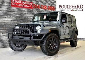 2014 Jeep Wrangler Unlimited Sport WILLYS *GARANTIE 100 000KM*