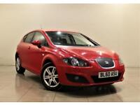 SEAT LEON 1.6 CR TDI ECOMOTIVE SE 5d 103 BHP + 1 PRE OWNER + AIR CON + AUX (red) 2011