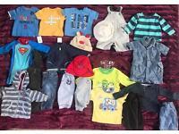 Baby Boys Summer Bundle Aged 3-6 Month