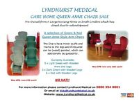 Care Home Queen Anne Chairs