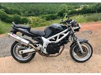 1999 Suzuki SV650 (naked) Black MOT 2018