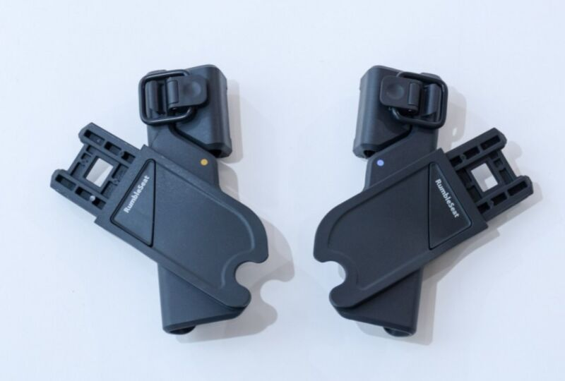 UppaBaby Stroller RumbleSeat Adapters w/Instruction Replacement Part Recall NEW