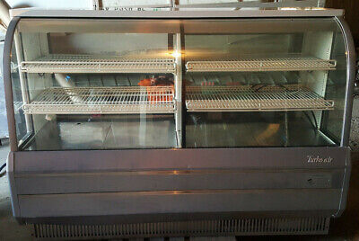 Turbo Air Curved Glass Bakery Display Show Case Tcgb-72-2-co Dry Refrigerated