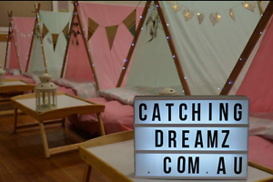 Catching Dreamz Slumber Party Hire Capital Hill South Canberra Preview
