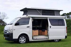 Toyota Hiace Frontline Campervan with Gas Cooking & 5 Seat Belts! Albion Park Rail Shellharbour Area Preview